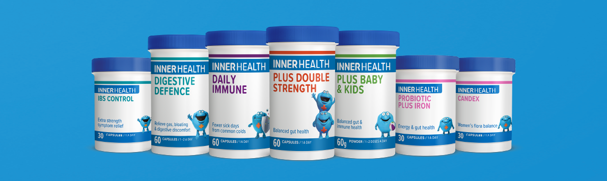 Inner Health Product Range Shot