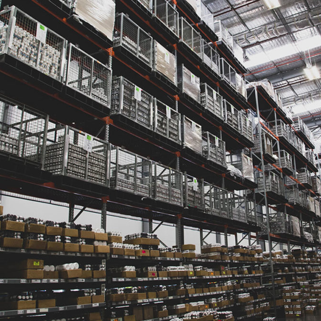 Shot of the Metagenics warehouse